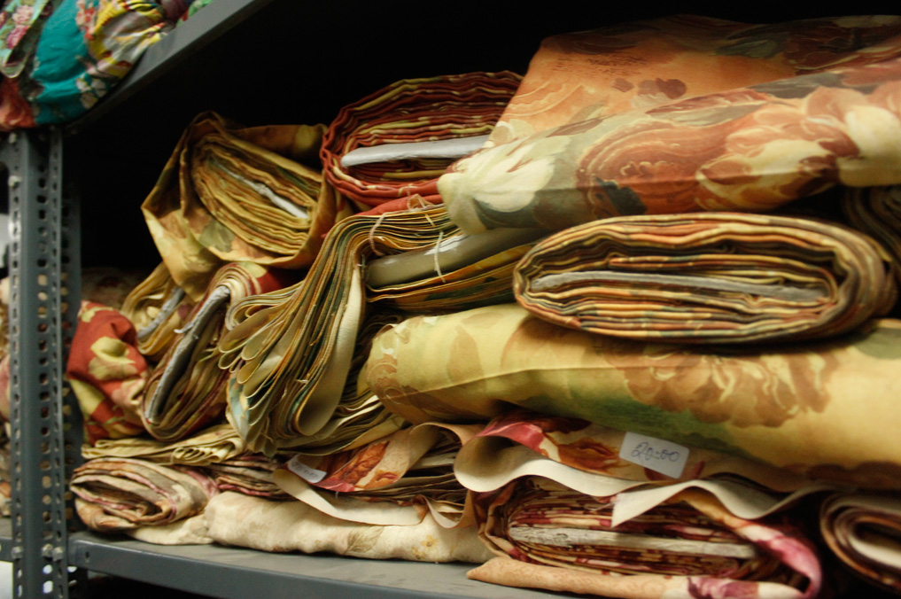 our fabric store is a treasure trove of thousands of meters of various fabrics.
